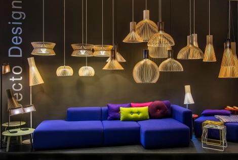 Secto design in diseno showroom